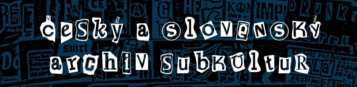 český a slovenský archiv subkultur